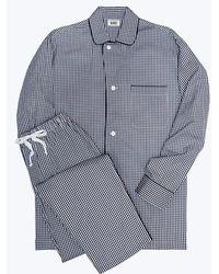 Sleepy Jones Glenn Corduroy Robe in Blue for Men - Lyst 2c78b5ec3