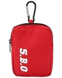 W Concept - [unisex] Mini Key Ring Bag Red - Lyst