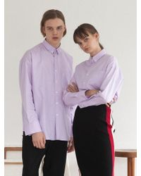 TARGETTO - [unisex] Tgt Pocket Shirt Lilac - Lyst