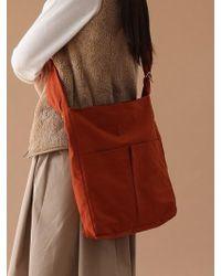 UNDERCONTROL STUDIO - Square Bag - Wrinkle - Npc - Brick Orange - Lyst