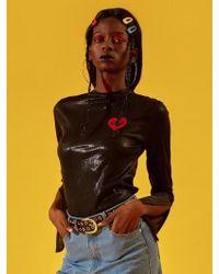 NANA CREW - Nana Glitter Long Sleeve T-shirt Black - Lyst
