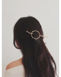 W Concept - Wood Texture Hairpiece-l - Lyst
