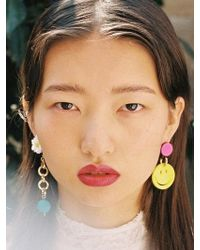 VON DITOLE - Smile Elice Earrings - Lyst