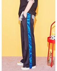Blank - Tape Track Pants-bl - Lyst