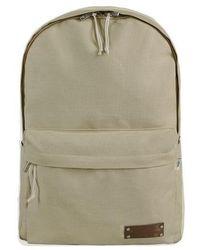 ULKIN - Ul:kin Basic Backpack Beige - Lyst