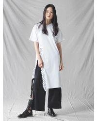 Grace Raiment - String Slit Trousers - Lyst