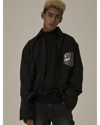 OVERR - [unisex]circle Bs Black Shirts - Lyst
