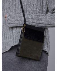 W Concept - Square Bag - Khaki - Lyst