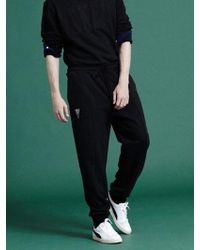 NOHANT - [unisex]lonely Lovely Logo Sweatpants Black - Lyst