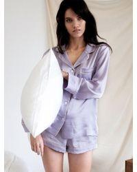 W Concept - Pastel Short Pj Trousers - Fantasy Violet - Lyst