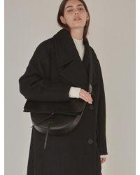 Low Classic - Half Moon Bag Black - Lyst