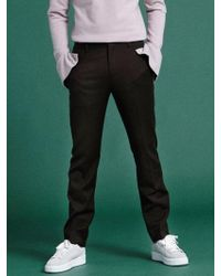 NOHANT - [unisex]classic Straight Leg Trousers Brown - Lyst