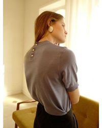 among A Button Knit
