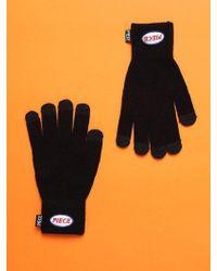 W Concept - [unisex]piece Icon Gloves In Black - Lyst