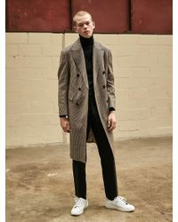 COLLABOTORY - Double Tailored Coat_check - Lyst