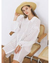 THE ASHLYNN - Selflove Dakota Oversized Shirt Dress - Lyst
