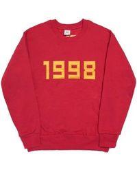 FRESH ANTI YOUTH - 1998-crewneck Jumper - Red - Lyst