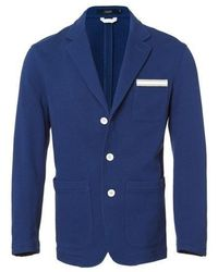 J'RIUM - Roy Cotton Jacket Navy - Lyst