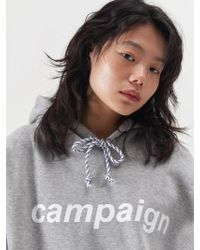 SLEAZY CORNER - Campaign Hoodie Grey - Lyst