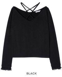 Grace Raiment - Deep V String Knit - Lyst