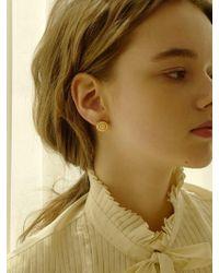 FLOWOOM - Frame Earrings - Lyst