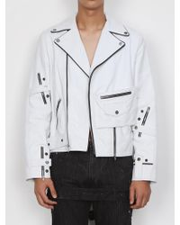 DOZOH - Lambs Leather Ride Jacket - Lyst