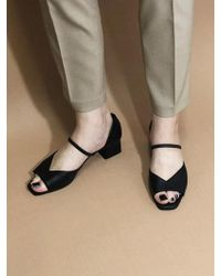 IGINOA - Tulip Band Court Shoes - Black - Lyst