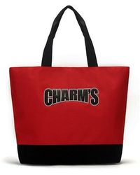 Charm's - Basic Totebag Red - Lyst