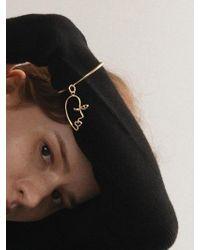 CONTEMPOH - Picasso Face Dangling Cuff Bracelet - Lyst