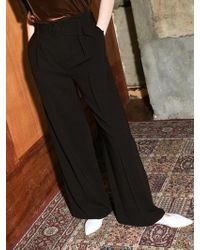 COLLABOTORY - Bacma6005m Belted Wide Pants - Lyst