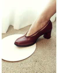 Wite - C04 Wine Pipe Court Shoes - Lyst