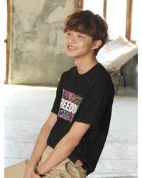 Chubasco   M T Shirt Weed Pp Black M17106[unisex]   Lyst