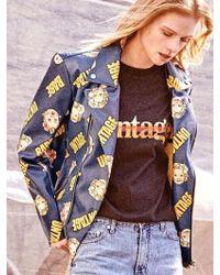 UNTAGE - [unisex] Babe Rider Jacket Blue - Lyst