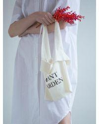 LETQSTUDIO - Avant Garden Linen Bag Iv - Lyst