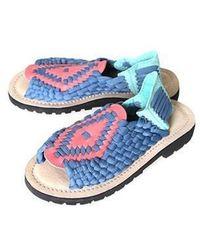 Chubasco - Aztec S150099 Slate Blue/piel Crimson/turq - Lyst