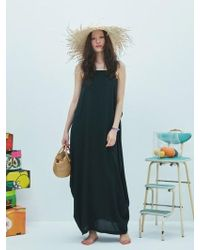 W Concept - Ray Vacance Dress In Black - Lyst