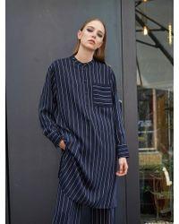 COLLABOTORY | B7cma4011m Stripe Shirt Dress | Lyst