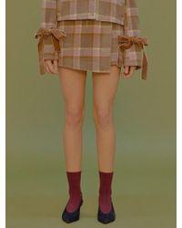 Margarin Fingers - Bukeul Wrap Skirt - Lyst