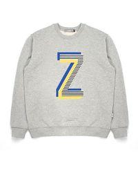 W Concept - Zpl Sweatshirt Gray - Lyst