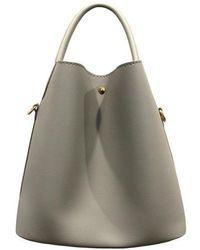 Maison de H - Softy Light Gray Shoulder Bag - Lyst