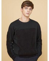 MILLOGREM - Voll Knit Sweatshirts - Black - Lyst
