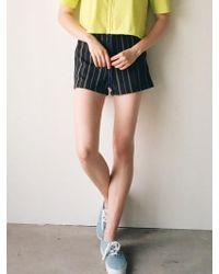 Noir Jewelry - Denim Shorts Bk - Lyst