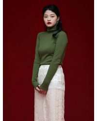 Grace Raiment - Basic Turtleneck Top - Lyst
