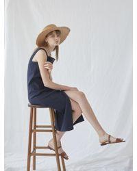 NILBY P - Summer Linen Sleeveless Dress - Lyst