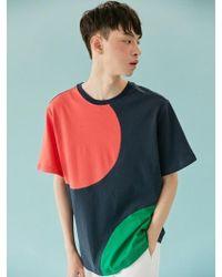 BONNIE&BLANCHE - [unisex] Spinnin Overfit T-shirt (navy) - Lyst