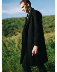 VRUMOUS - Black Oversized Dropped Shoulder Single Coat - Lyst