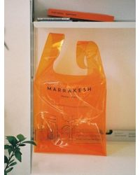 Atelier Park - Marrakesh Line - Sheer Bag_ Orange - Lyst