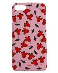bpb - Cherry Iphone Case Pink - Lyst