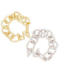 VIOLLINA - Signature Chunky Bracelet - Lyst