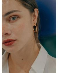 W Concept - Planet Ring Earring - Lyst